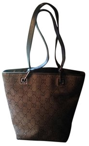 Gucci Tote in Black/Grey