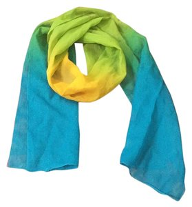 Other Yellow green blue scarf