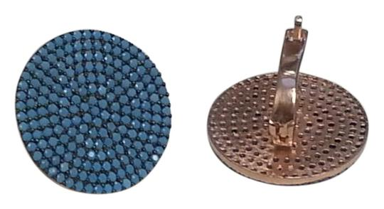 Preload https://img-static.tradesy.com/item/15754945/rose-gold-and-turquoise-mosaic-button-earrings-0-3-540-540.jpg