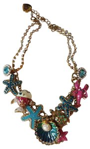 Betsey Johnson Betsey Johnson sea related necklace