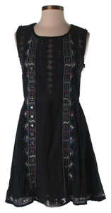 Black Maxi Dress by Free People Cutout