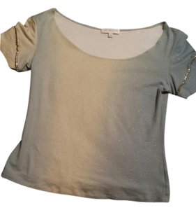 Roberto Cavalli Top Blue/light green;