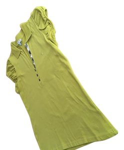 Burberry T Shirt Lime green