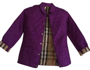 Burberry Purple color Jacket