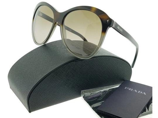 Prada Parada PR13RS-TKT1X1 Women's Brown/Grey Lens Sunglasses Image 0
