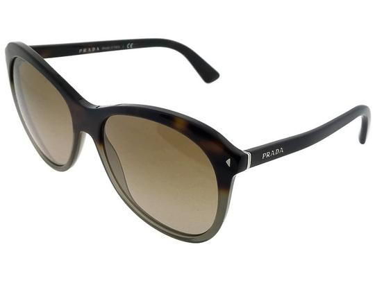 Prada Parada PR13RS-TKT1X1 Women's Brown/Grey Lens Sunglasses Image 1