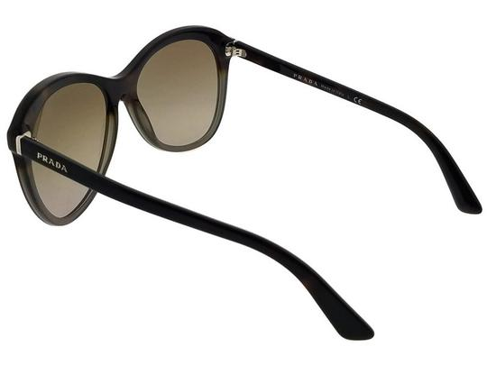 Prada Parada PR13RS-TKT1X1 Women's Brown/Grey Lens Sunglasses Image 2
