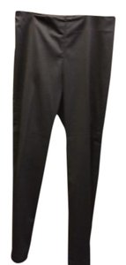 Eileen Fisher Knit Slimming Straight Pants Black