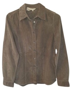 The Territory Ahead Button Down Shirt olive/light brown