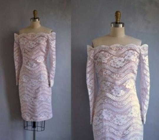 Preload https://item3.tradesy.com/images/victor-costa-white-blush-lace-vintage-wedding-dress-size-4-s-157572-0-0.jpg?width=440&height=440
