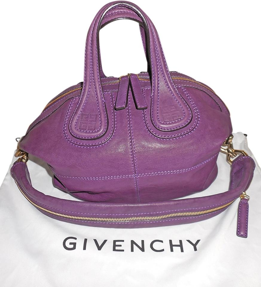 Givenchy Nightingale Purple Lambskin Shoulder Bag - Tradesy d9b344f56a6f6
