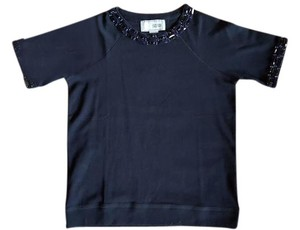 Joan Vass T Shirt Navy