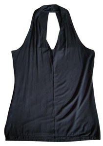 White House | Black Market Black Halter Top