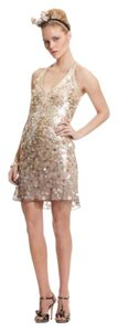 Sue Wong Sequin V-neck Party Sparkle Dress