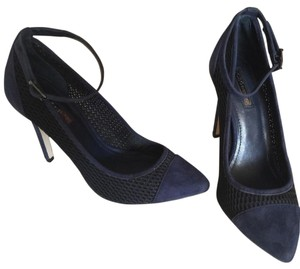 BCBGeneration Navy and black Pumps