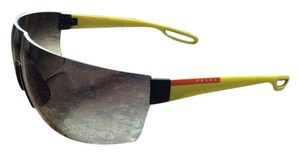 Parada Parada PS01QS-TIK0A7 Men's Linea Rossa Yellow/Grey Lens Sunglasses