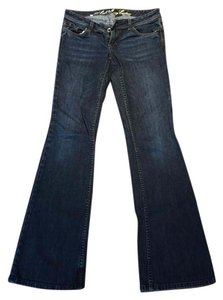 Juicy Couture Flare Leg Jeans-Dark Rinse