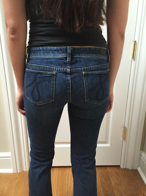 Juicy Couture Flare Leg Jeans-Dark Rinse Image 1