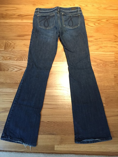 Juicy Couture Flare Leg Jeans-Dark Rinse Image 3