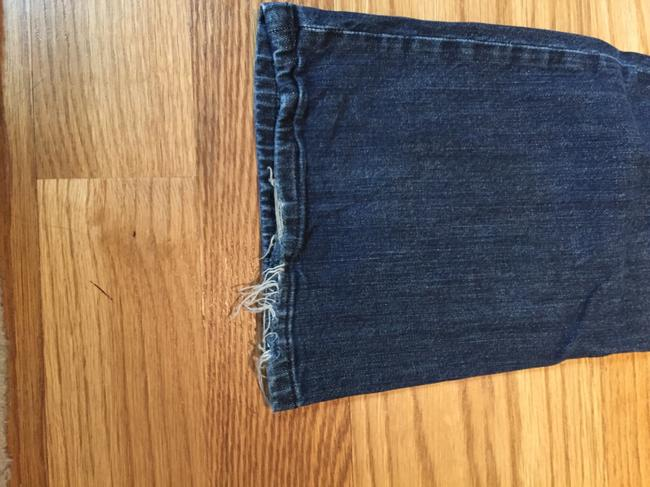 Juicy Couture Flare Leg Jeans-Dark Rinse Image 5