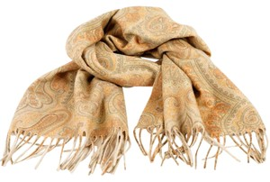Etro ETRO Two-tone Double-faced Cashmere Scarf