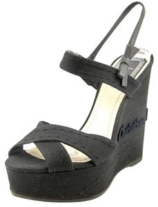 Dior Casual Summer BLACK Wedges