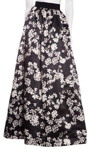 Alice + Olivia Maxi Skirt Black & White