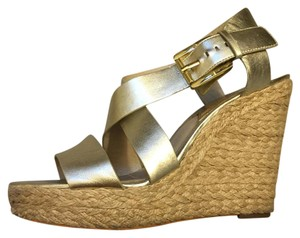 MICHAEL Michael Kors Metallic Wedges