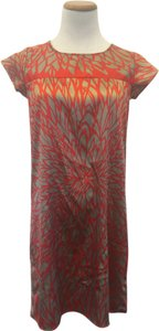 Collective Clothing short dress Red and Copper on Tradesy