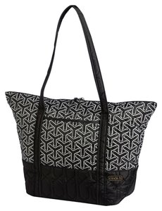 Cinda B Tote in Jet Set Black