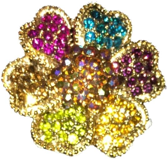 Other Rhinestone Flower Ring