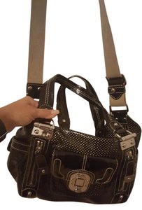 Rafe Patent Satchel in Black