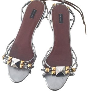Marc Jacobs grey/silver Sandals