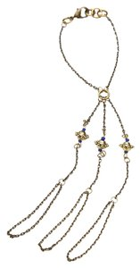 Free People Free People Kancana Handpiece Necklace (Brass)