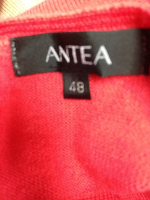 Antea Neck Wool V Italian Fashion Sweater