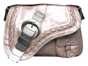 Dior Limited Edition Metallic Saddle Saddle Shoulder Bag