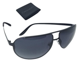 Carrera New Sunglasses CARRERA 102/S 003HD 65-11 Aviator Matte Black Frames w/ Grey Gradient Lenses