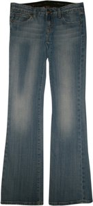 Express Classic 5 Pocket Style Boot Cut Jeans-Medium Wash