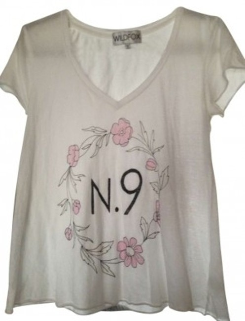 Preload https://item2.tradesy.com/images/wildfox-whites-with-floral-pattern-flower-potion-tee-shirt-size-4-s-157631-0-0.jpg?width=400&height=650
