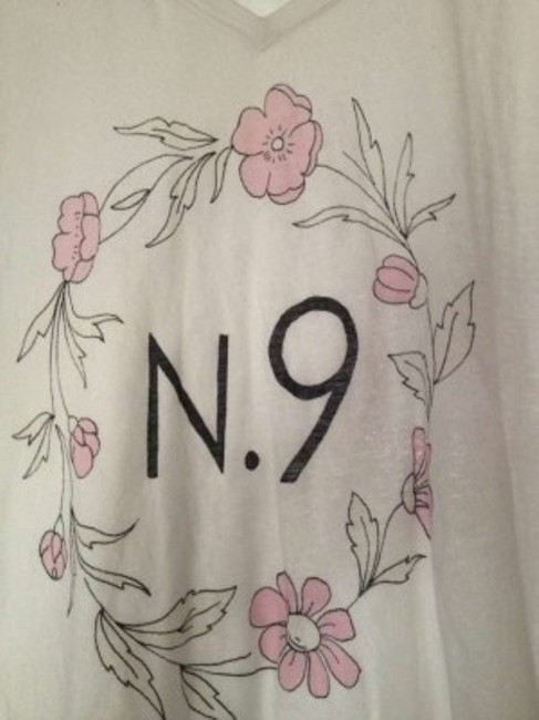 Wildfox T Shirt Whites with Floral Pattern