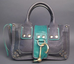 Chloé Ascot Shackled Chloe Tote in Grey