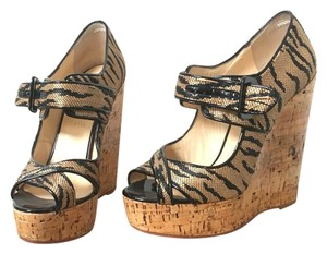 80029bb05b42 Brown Christian Louboutin Wedges - Up to 90% off at Tradesy
