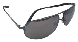 Carrera New Sunglasses CARRERA 102/S J8P8G Aviator Matte Brown Frames w/ Silver Mirror Lenses