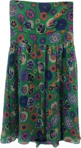 Odille short dress Green, Orange, Blue, Pink on Tradesy