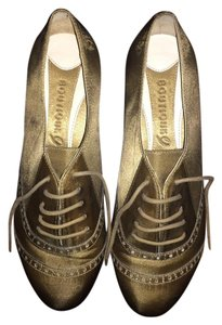 Boutique 9 Gold Flats