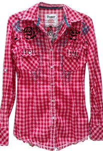 Roar Studded Button Down Shirt
