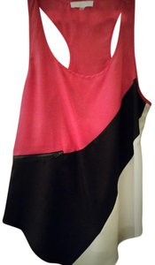 Sugarlips Top Pink, black, and white