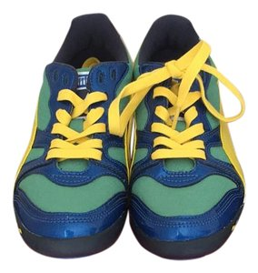 Puma Leprechaun Green/Dandelion/Snorkel Blue Athletic Athletic