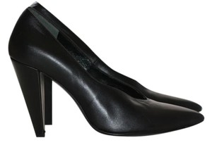 Robert Clergerie Kid Leather Black Pumps