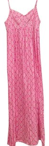 Pink Maxi Dress by Escada